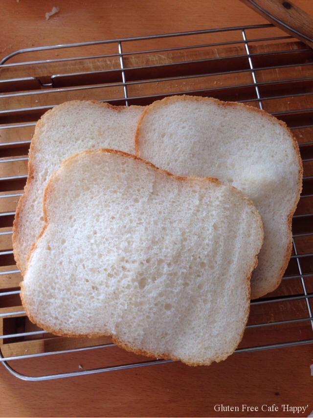 米粉パンで海老アボカドサンド(^_−)−☆