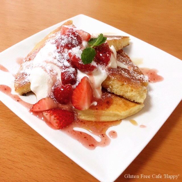 グルテンフリーな朝食(^_−)−☆